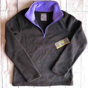 Fleece 1/4 Zip Old Navy 10-12 Kids Large Sweater